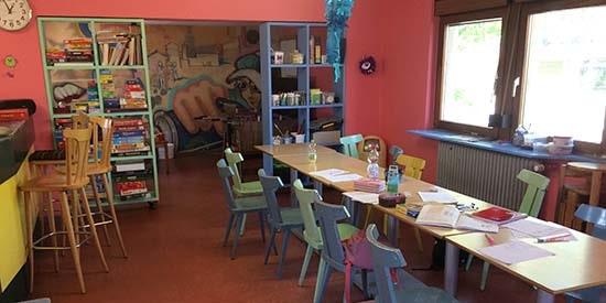 Jugendhaus Grünstadt Cafeteria
